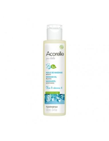 Aceite masaje relajante bio Acorelle