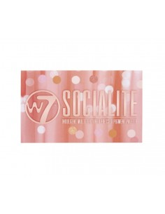 Socialite paleta de sombras W7