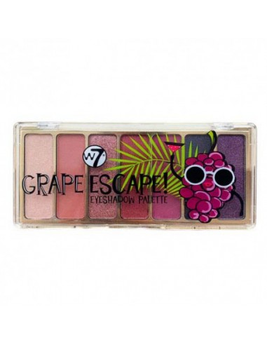 Grape Escape W7 paleta de sombras
