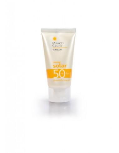 Crema solar facial SPF50+ Marcel Cluny