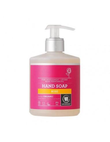 Jabón de manos rosa Urtekram