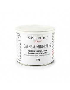 Sales minerales Xavier Mor