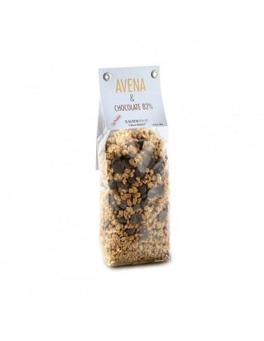 Granola Avena y chocolate 82% Xavier Mor
